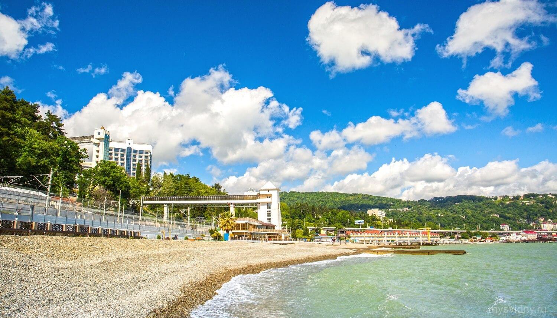 Фото пляжей хосты 2018